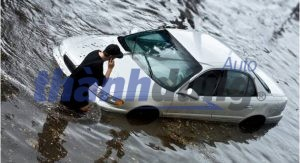 Xử lý khi xe bị ngập nước