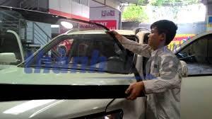 Hướng dẫn lắp đặt kính ô tô