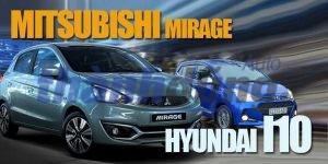 LỰA CHỌN XE DỊCH VỤ GIỮA MITSUBISHI ATTRAGE HYUNDAI I10